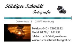 Visitenkarte Fotograf